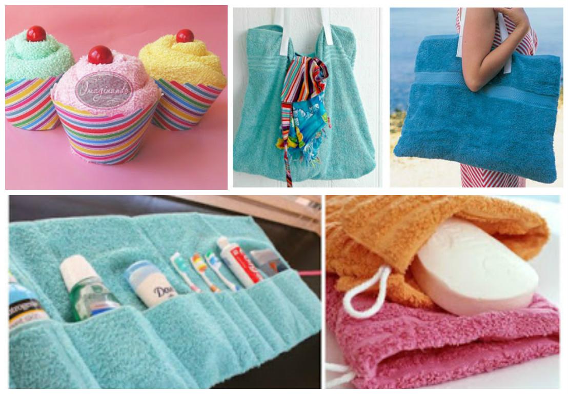 Ideas innovadoras para darle uso a tus toallas viejas #Infografía