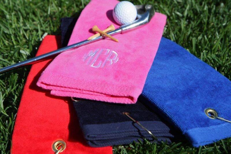 Cómo deben ser tus toallas de golf #Infografía
