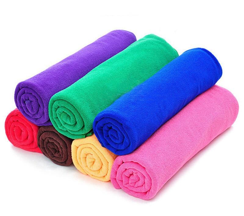 Formas de lavar tus toallas de microfibra