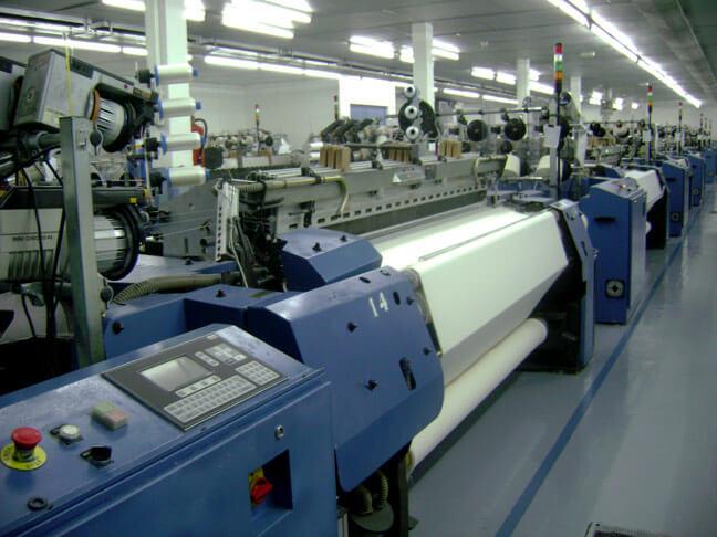 Proceso de manufactura de las toallas