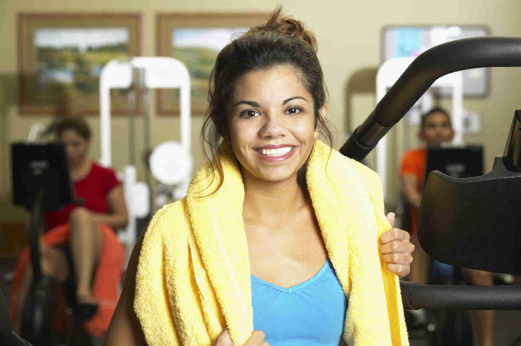 Importancia de usar toallas en el gimnasio