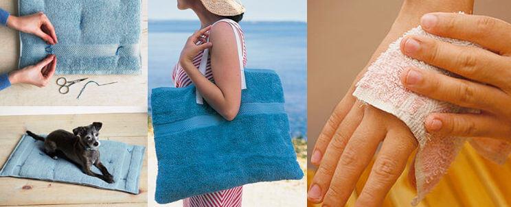 Todo sobre la reutilización de toallas viejas