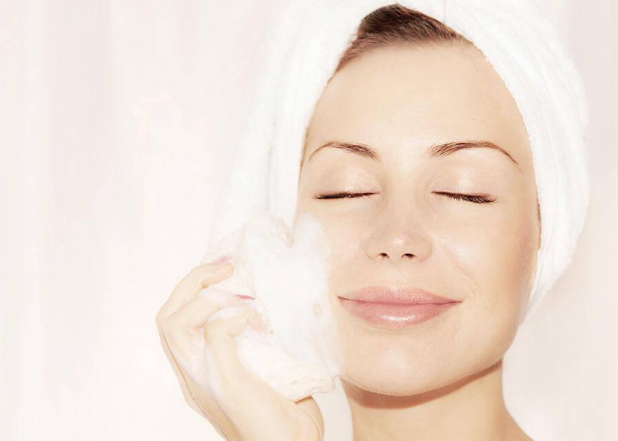 Uso de las toallas en tratamientos para la piel