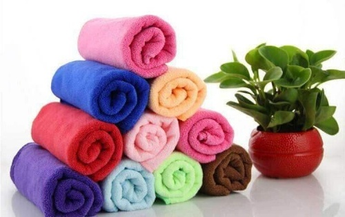 Distintos usos para las toallas de microfibra #infografía
