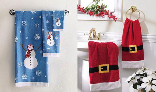 Aprende a hacer decoraciones de Navidad con toallas