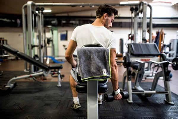 Cómo escoger la mejor toalla para el gimnasio