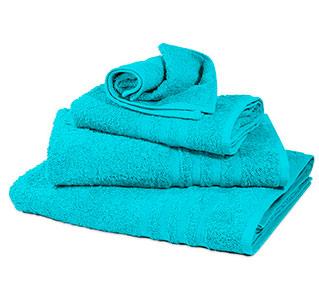 Toallas de algodón con nombre bordado