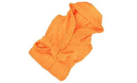 Albornoz-capucha-naranja