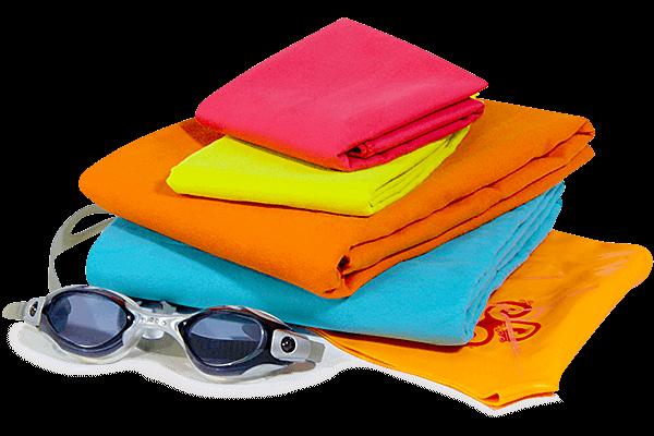 Conoce los tipos de toallas para nadadores