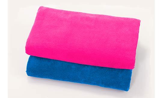 toallas Azul-Royal-y-Fucsia