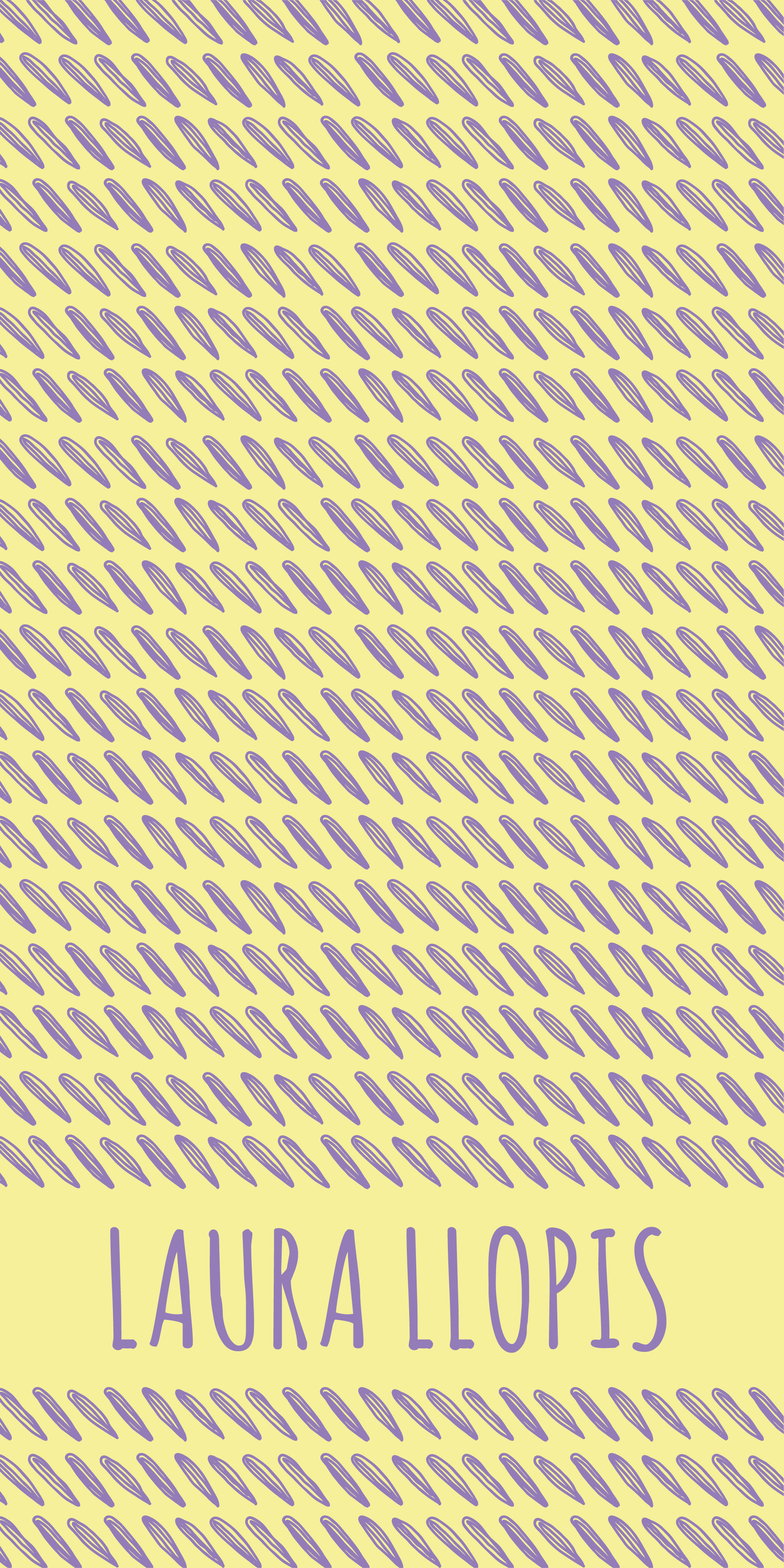 Estampado Amarillo-Morado