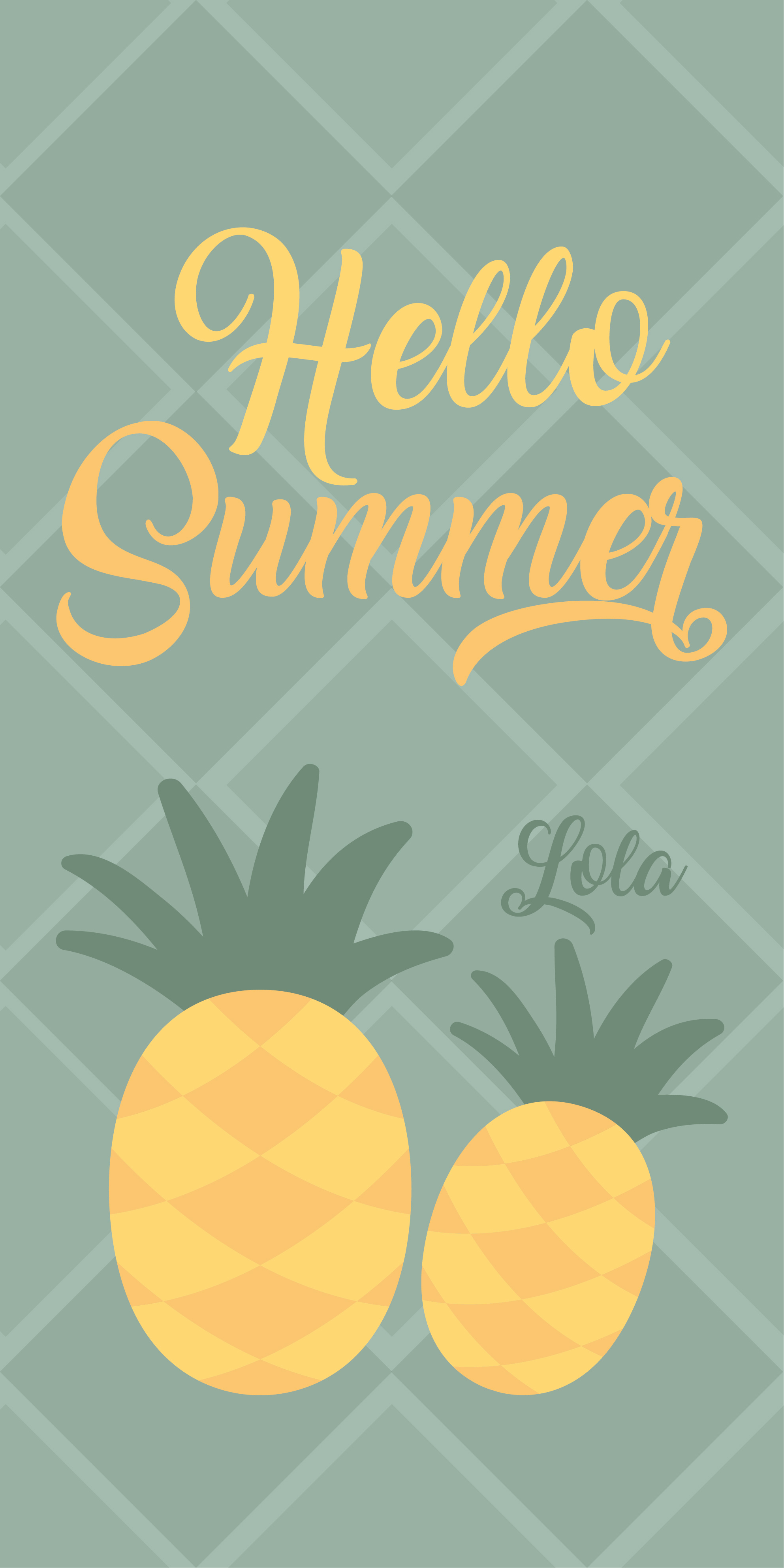 Hello Summer-Piñas